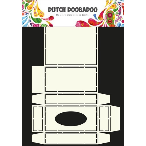Dutch Doobadoo Dutch Box Art stencil tissue doosje A4 470.713.034 (01-17)