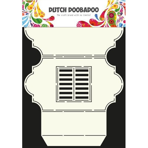 Dutch Doobadoo Dutch Card Art Stencil venster 3 -A4 470.713.317 (01-17)
