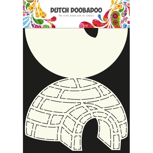 Dutch Doobadoo Dutch Card Art Stencil iglo A4 470.713.618 (01-17)