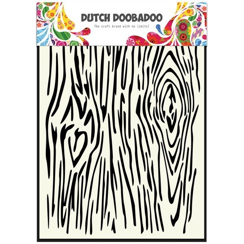 Dutch Doobadoo Dutch Mask Art stencil houtnerven A5 470.715.102 (01-17)