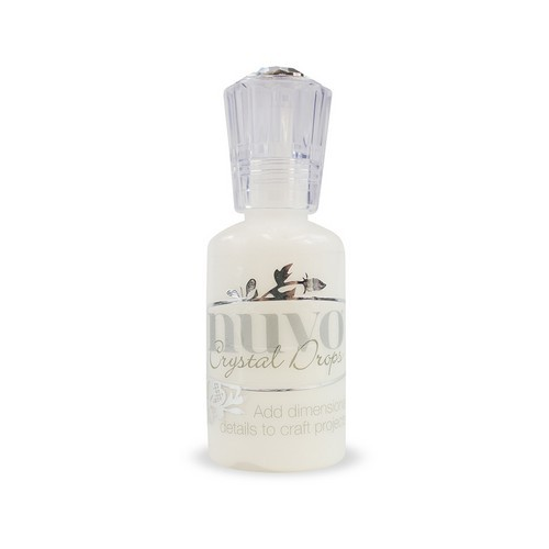 Nuvo crystal drops - pearl white 651N