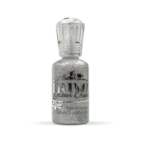 Nuvo glitter drops - silver moondust 756N