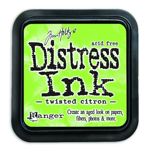Ranger Distress Inks pad - twisted citron TIM43294 Tim Holtz