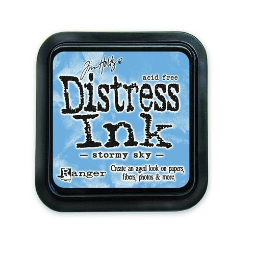 Ranger Distress Inks pad - stormy sky stamp pad TIM27171 Tim Holtz