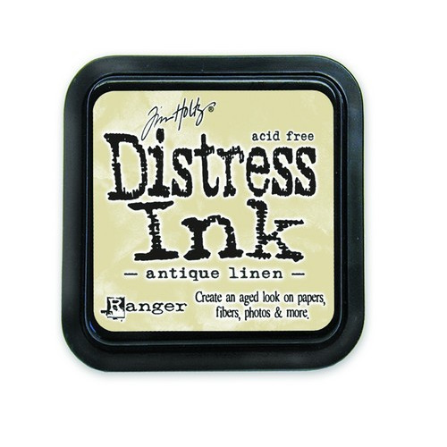 Ranger Distress Inks pad - antique linen stamp pad TIM19497 Tim Holtz