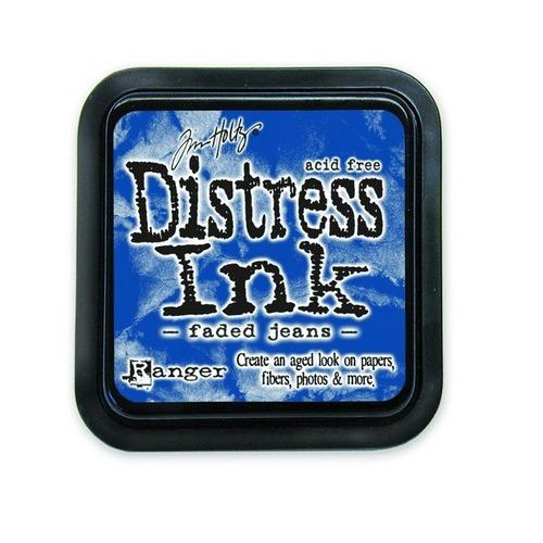 Ranger Distress Inks pad - faded jeans stamp pad TIM21452 Tim Holtz
