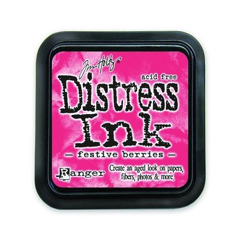 Ranger Distress Inks pad - festive berries TIM32861 Tim Holtz