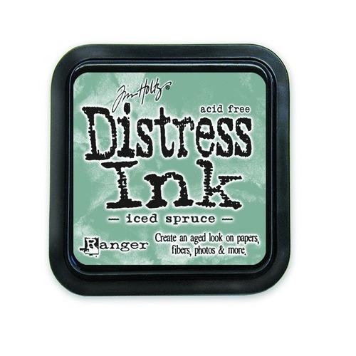Ranger Distress Inks pad - iced spruce TIM32878 Tim Holtz