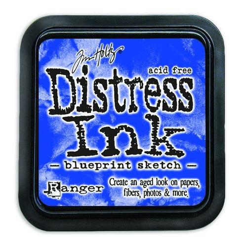 Ranger Distress Inks pad - blueprint sketch TIM43195 Tim Holtz