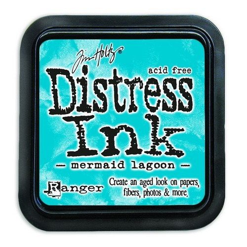 Ranger Distress Inks pad - mermaid lagoon TIM43256 Tim Holtz