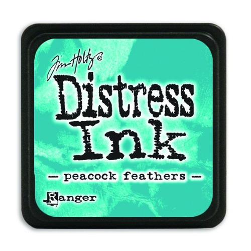 Ranger Distress Mini Ink pad - peacock feathers TDP40064 Tim Holtz