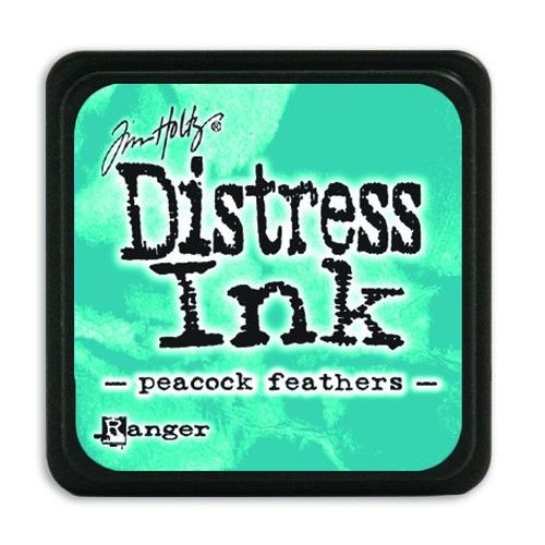 Ranger Distress Mini Ink pad - peacock feathers TDP40064 Tim Holtz
