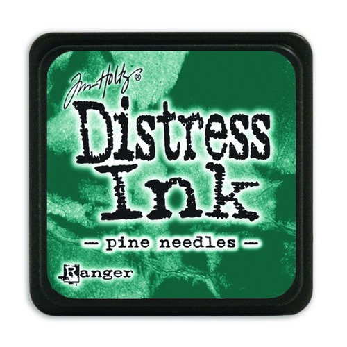 Ranger Distress Mini Ink pad - pine needles TDP40095 Tim Holtz