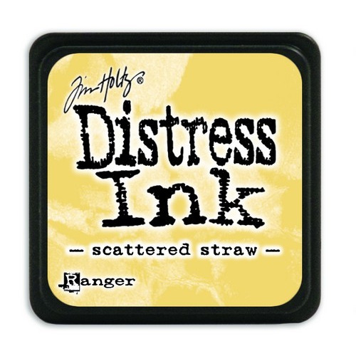 Ranger Distress Mini Ink pad - scattered straw TDP40149 Tim Holtz