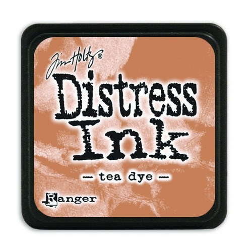 Ranger Distress Mini Ink pad - tea dye TDP40231 Tim Holtz