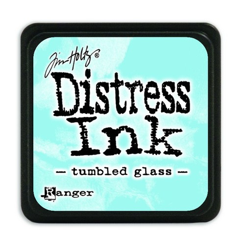 Ranger Distress Mini Ink pad - tumbled glass TDP40248 Tim Holtz