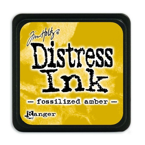Ranger Distress Mini Ink pad - fossilized amber TDP46783 Tim Holtz