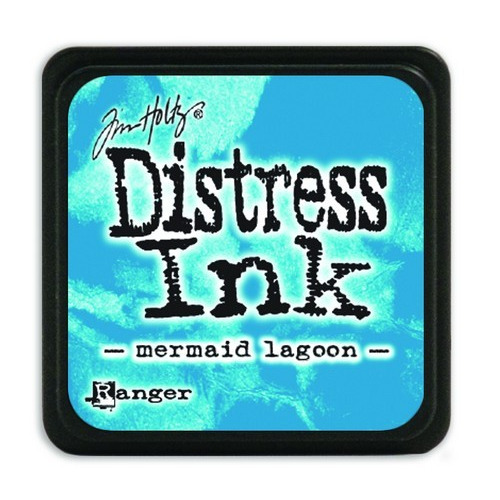 Ranger Distress Mini Ink pad - mermaid lagoon TDP46790 Tim Holtz