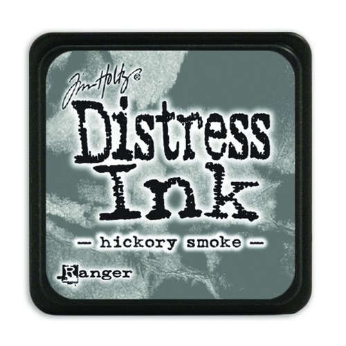 Ranger Distress Mini Ink pad - hickory smoke TDP47339 Tim Holtz