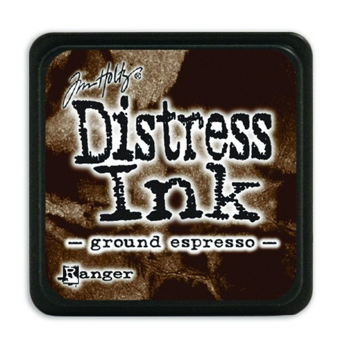 Ranger Distress Mini Ink pad - ground expresso TDP47353 Tim Holtz