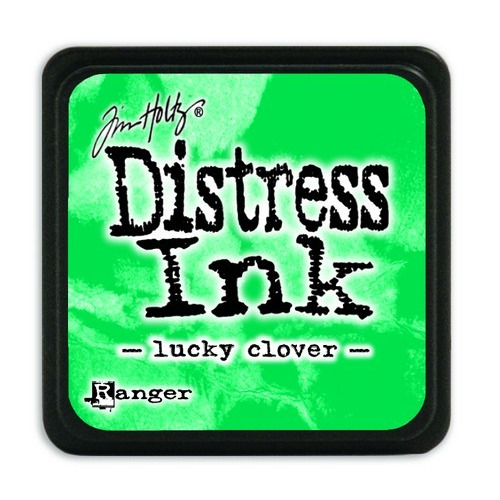 Ranger Distress Mini Ink pad - lucky clover TDP47384 Tim Holtz