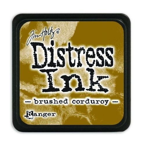 Ranger Distress Mini Ink pad - brushed corduroy TDP39884 Tim Holtz
