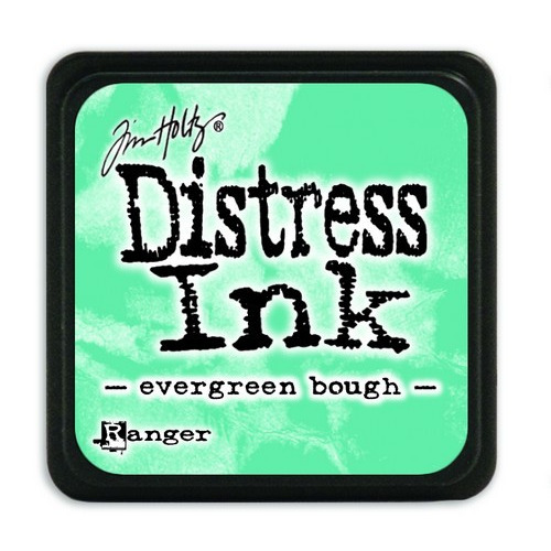 Ranger Distress Mini Ink pad - evergreen bough TDP39945 Tim Holtz