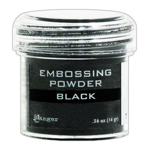 Ranger Embossing Powder 34ml - black EPJ37347