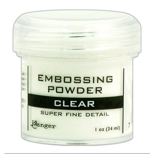 Ranger Embossing Powder 34ml - super fine clear EPJ37385