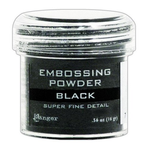 Ranger Embossing Powder 34ml - super fine black EPJ37392
