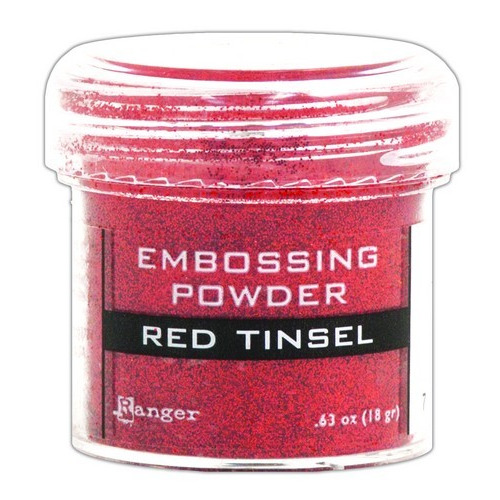 Ranger Embossing Powder 34ml - red tinsel EPJ41061