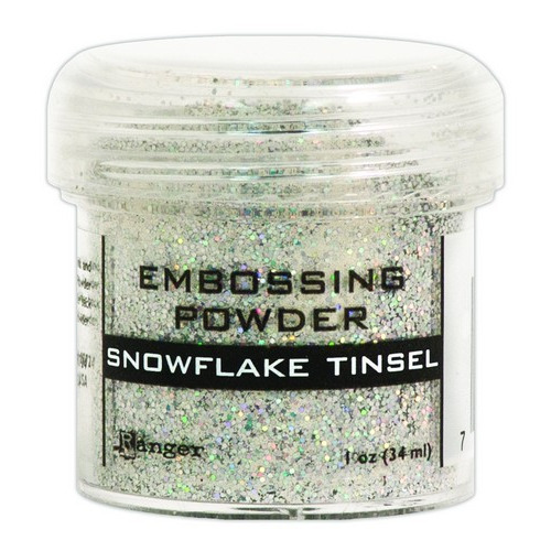 Ranger Embossing Powder 34ml - snowflake tinsel EPJ37453