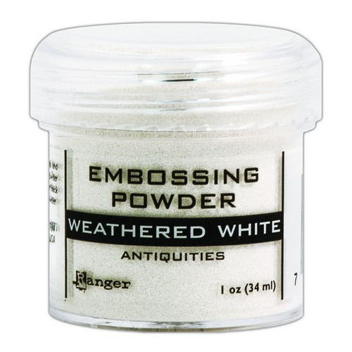 Ranger Embossing Powder 34ml - weathered white EPJ37538