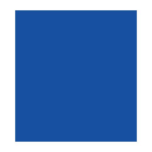 12274-7405 Synthetisch filt 1mm donker blauw