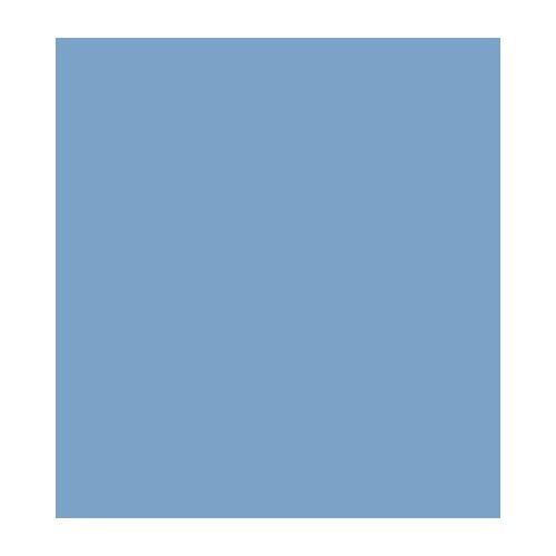 12274-7403 Synthetisch filt 1mm licht blauw
