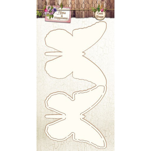 Studio Light Cardshape stencil Home & Happiness 06 CARDSHAPHH06 (01-17)