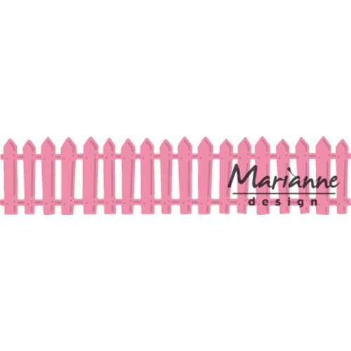 Marianne D Collectable Wit tuinhek COL1423  15x13 cm (02-17)