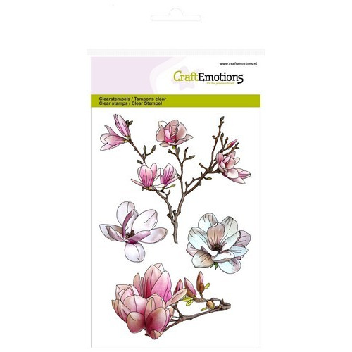 CraftEmotions clearstamps A6 - magnolia Spring Time (02-17)