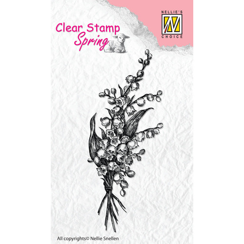 Clear stamps Spring Bouquet