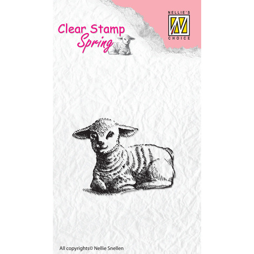 Clear stamps Spring Lamb