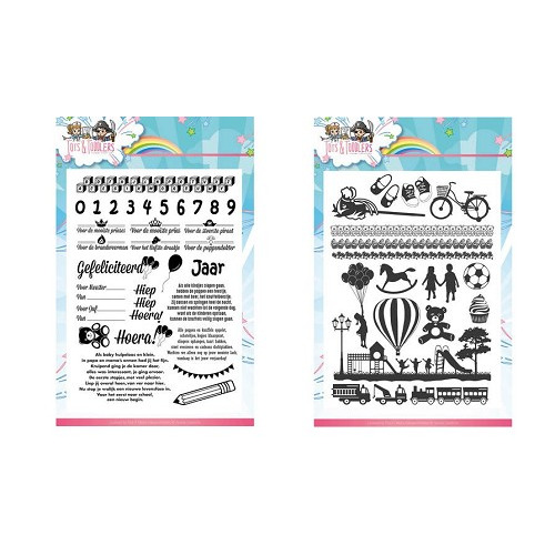 Set Clearstamps Tots and Toddlers YCCS10030/31