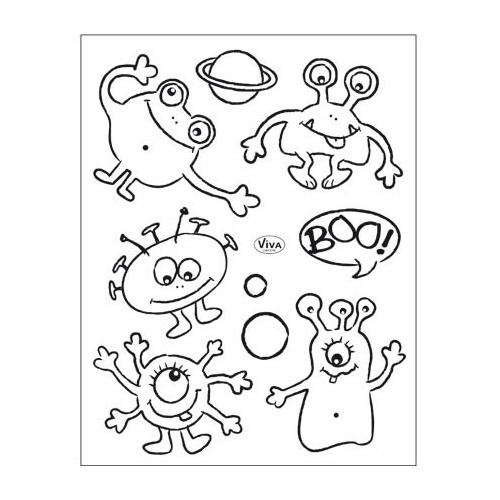 Clear Stamps Kleine Monster