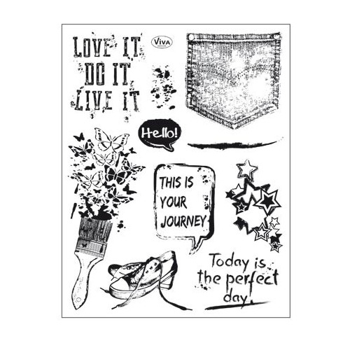 Clear Stamps Grunge