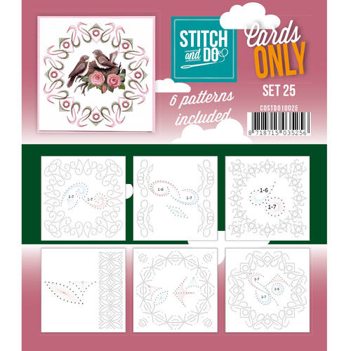 Stitch & Do - Cards only - Set 25
