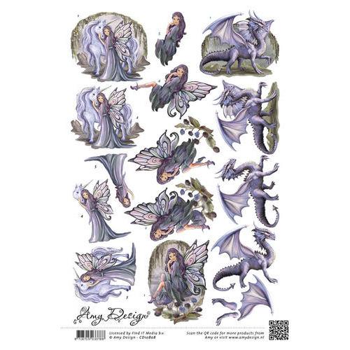 3D Knipvel - Amy Design - Fantasies