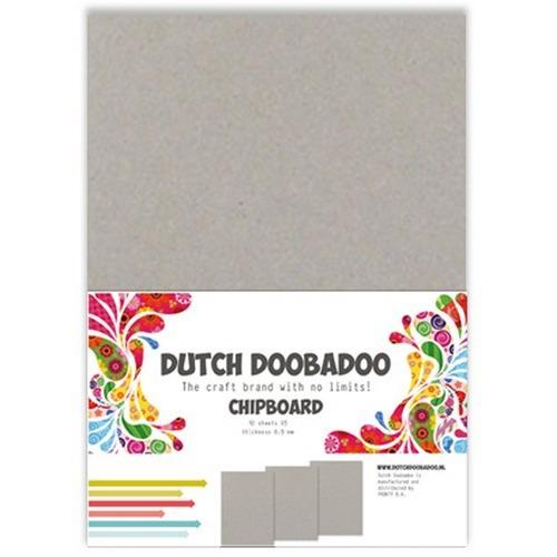 Dutch Doobadoo Greyboard 10 stuks A5 474.300.004