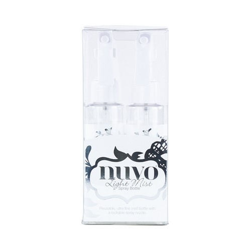 Nuvo light mist spray bottle - 2 pack 849N