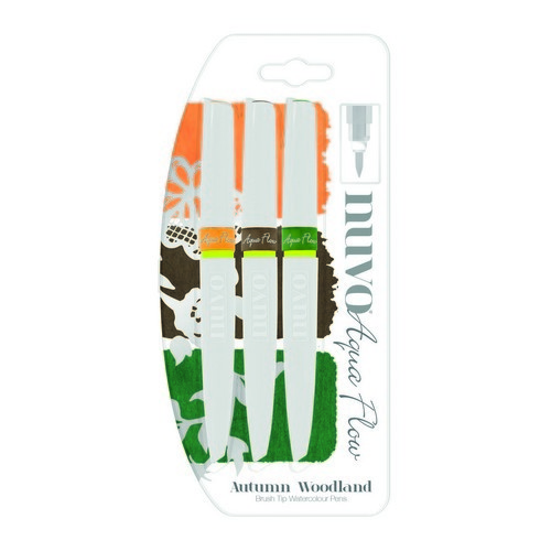 Nuvo aqua flow pens - autumn woodland 890N
