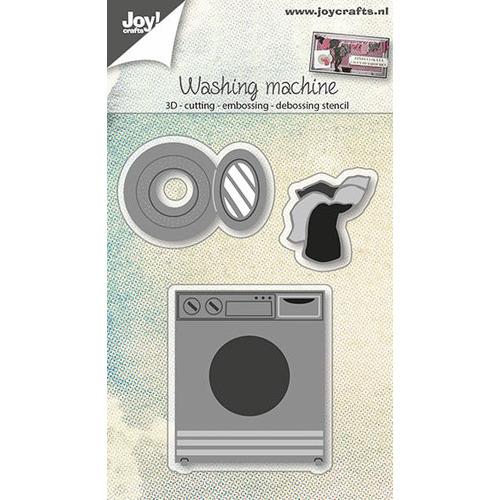 Snij-embos-debosstencil 3D - Wasmachine