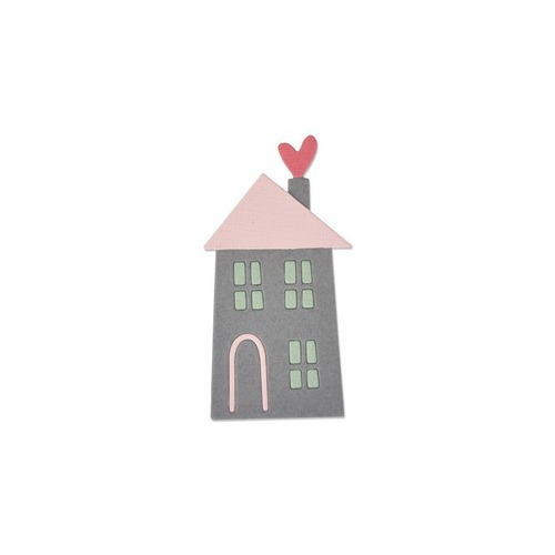 Sizzix Thinlits Die - Home sweet home #2 661789 My Life Handmade (04-17)